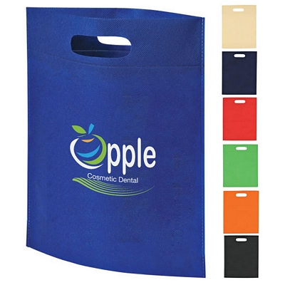 Custom Heat Sealed Non-Woven Exhibition Tote Bag