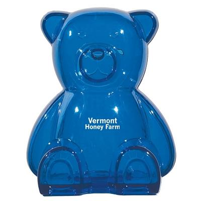 Promotional Plastic Bear Shape Bank