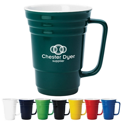 Promotional 14 oz. The Ceramic Cup