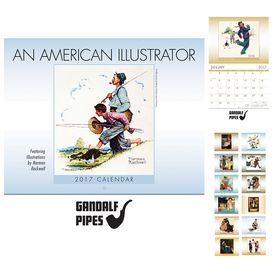 Custom An American Illustrator Wall Calendar - Stapled