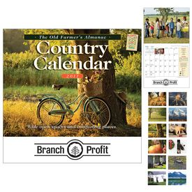 Custom The Old FarmerS Almanac Country Wall Calendar - Stapled