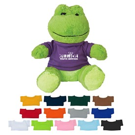 Customized 8-1-2 Fantastic Frog Stuffed Animal
