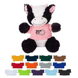 Promotional 8-1-2 Cuddly Cow Stuffed Animal