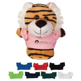 Custom 4 Mini Plush Buddies Tiger