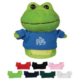 Promotional 4 Mini Plush Buddies Frog