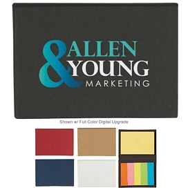 Promotional 5 Sticky Note Pocket Case