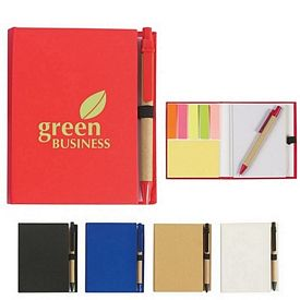 Promotional Eco-Friendly Recycled Notebook With Pen
