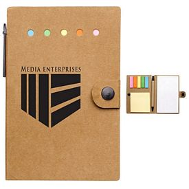 Promotional Small Snap Desk Essentials Notebook