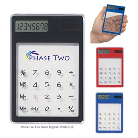 Promotional Clear Solar Calculator