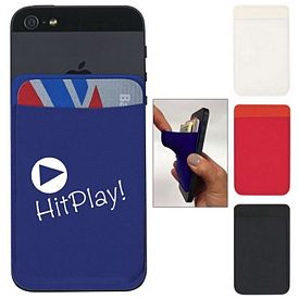 Promotional Lycra Phone Wallet Card Sleeve
