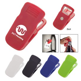 Promotional Magnetic Bottle Opener Clip