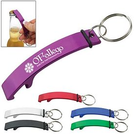 Promotional Curve Aluminum Bottle Opener