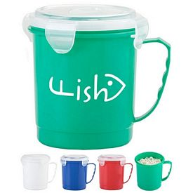 Promotional 24 Oz Food Container Mug