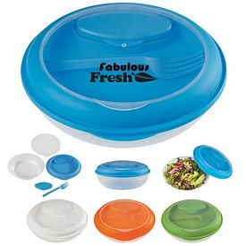 Promotional Oval Fork Dressing Food Bowl