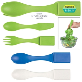 Promotional 4-In-1 Biggie Travel Utensil Set