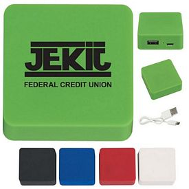 Promotional Portable Rubber Finish Power Bank