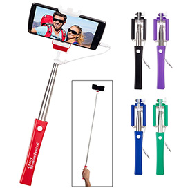 Customized Telescopic Button Push Selfie Stick
