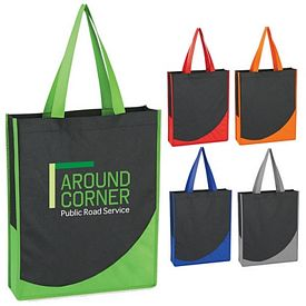 Promotional Non-Woven Accent Trim Tote Bag