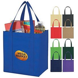 Customized Non-Woven Avenue Shopper Tote Bag