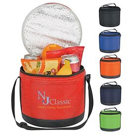 Customized Cans-To-Go Round Kooler Bag