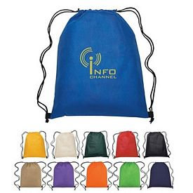 Customized Non-Woven Hit Sports Drawstring Backpack