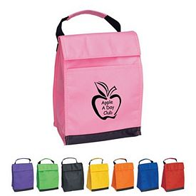 Customized Non-Woven Pack-It Insulated Lunch Bag