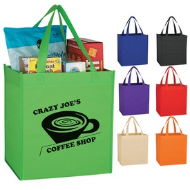 Promotional Non-Woven Shopping Tote Bag