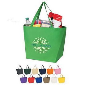 Custom Non-Woven Budget Shopper Tote Bag