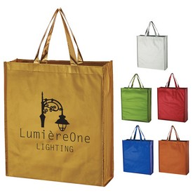 Promotional Metallic Non-Woven Shopper Tote Bag