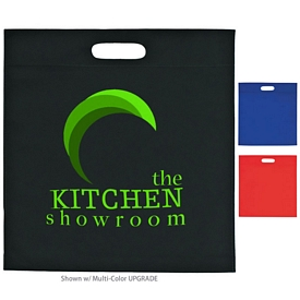 Customized Large Heat Sealed Non-Woven Exhibition Tote
