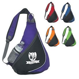 Promotional Fun Style Tear Drop Sling Backpack