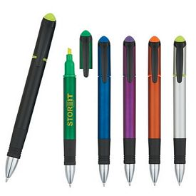 Promotional Domain Pen And Highlighter