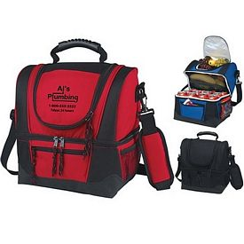 Promotional Dual Compartment Kooler Bag