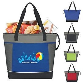 Promotional Mega Shopping Kooler Tote Bag