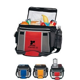 Promotional Flip Flap Insulated Kooler Chest Bag