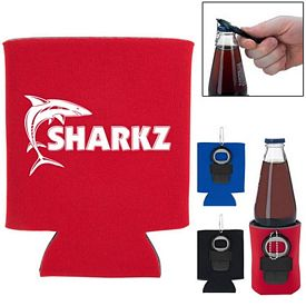 Promotional Kan-Tastic Bottle Opener Can Cooler
