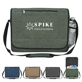 Promotional High Line Polycanvas Travel Messenger Bag