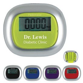 Custom Multi-Function Walk-It Pedometer