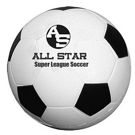 Custom Soccer Ball Stress Relievers