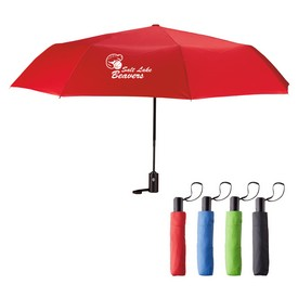 Promotional 42 Arc Auto Open And Close Folding Umbrella