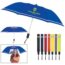 Customized 44 Arc Two-Tone Safety Umbrella