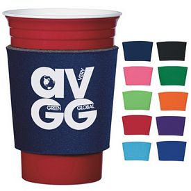 Promotional Comfort Grip Can Cooler Cup Sleeve