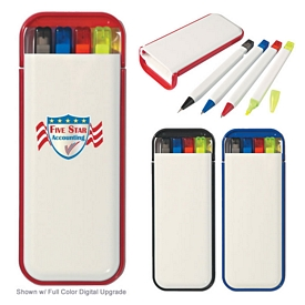 Promotional 4 In 1 Pocket Writing Set