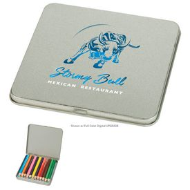 Promotional 12-Piece Colored Pencil Tin
