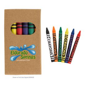 Promotional 6-Piece Crayon Set