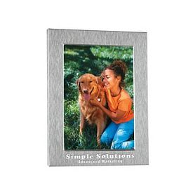 Customized 4X6 Silver Photo Frame