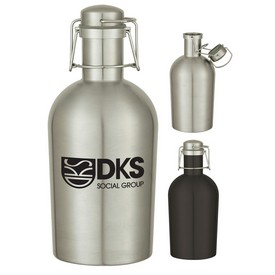 Customized 64 Oz Stainless Steel Growler