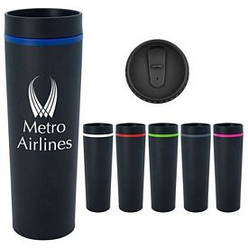 Promotional 16 Oz Stainless Steel Milan Tumbler