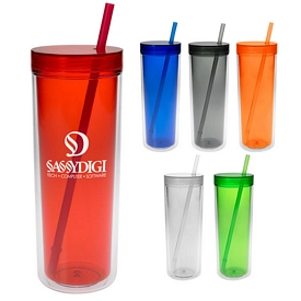 Customized 16 Oz Double Wall Aria Tumbler