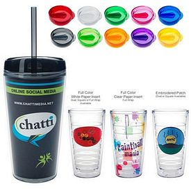 Promotional 16 Oz Tritan Double Wall Tumbler